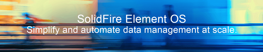 NetApp SolidFire Element OS